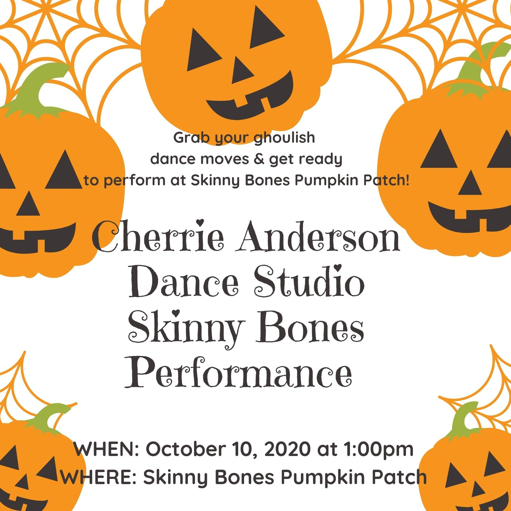 Orange Pumpkin Halloween Kids Party Invitation